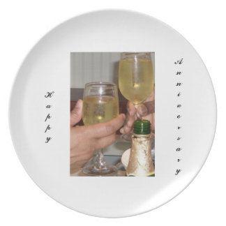African American Anniversary Plate 2