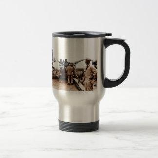 African American Artillerymen 15 Oz Stainless Steel Travel Mug