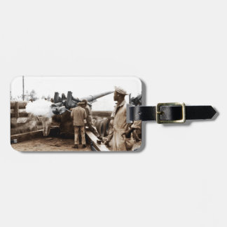 African American Artillerymen Bag Tag