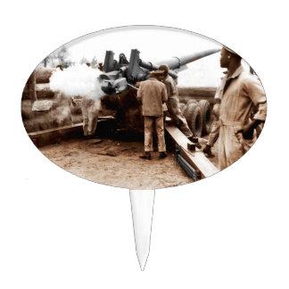 African American Artillerymen Cake Topper