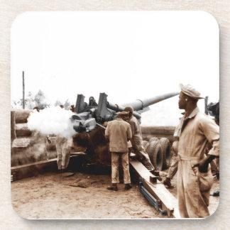 African American Artillerymen Coaster