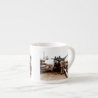 African American Artillerymen Espresso Cup