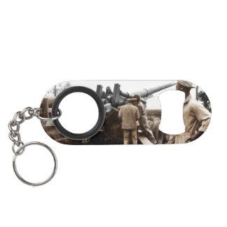 African American Artillerymen Keychain Bottle Opener