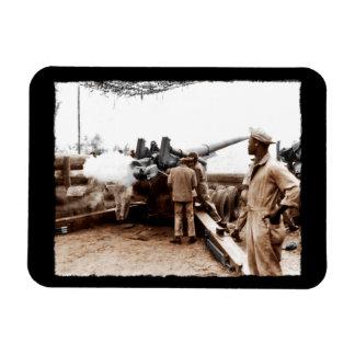 African American Artillerymen Rectangular Photo Magnet