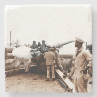 African American Artillerymen Stone Coaster