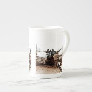 African American Artillerymen Tea Cup