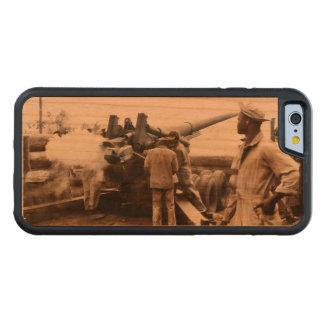 African American Artillerymen WWII Carved Cherry iPhone 6 Bumper Case