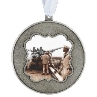 African American Artillerymen WWII Ornament