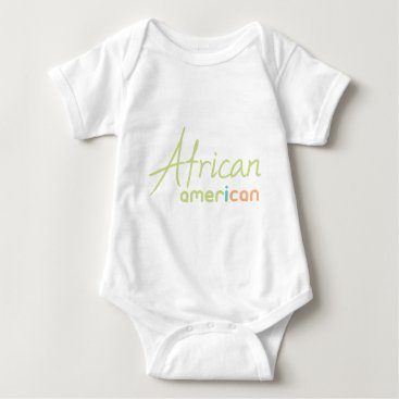 USA Themed African American Baby Bodysuit