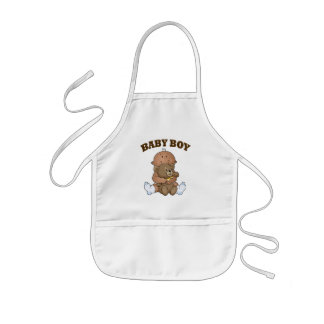 African American Baby Boy Aprons