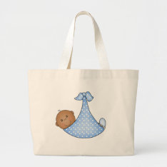 African American Baby Boy Large Tote Bag at Zazzle