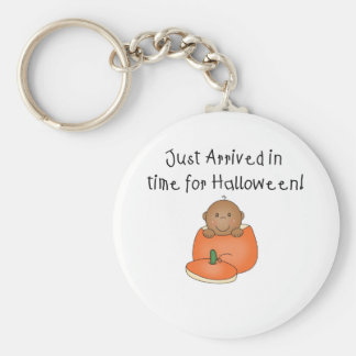 African American Baby Halloween Just Arrived Keychain