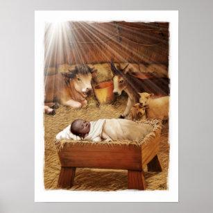 Nativity Scene Posters Amp Photo Prints Zazzle