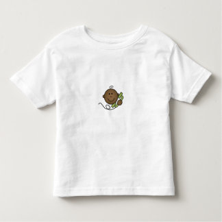African American Baby on Phone Toddler T-shirt
