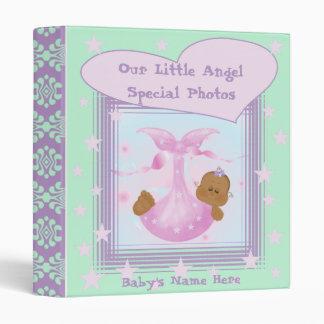 African American Baby Photo Book Binder