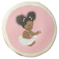 African American Baby Shower Cookies