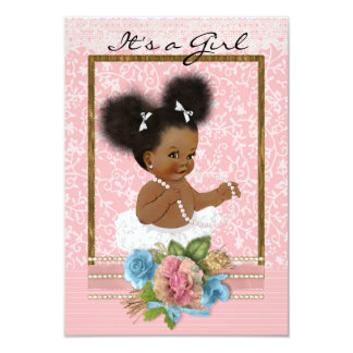 African American Baby Shower Invitations | Zazzle