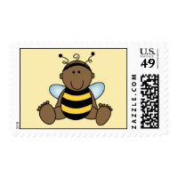 African American Baby Stamp