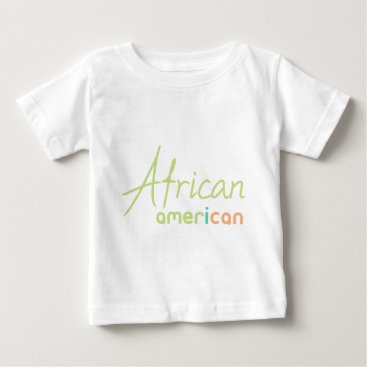 USA Themed African American Baby T-Shirt