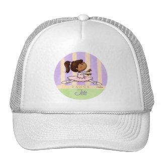 African American Ballerina Dancer Trucker Hat