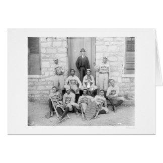 African American Baseball 1900 Card