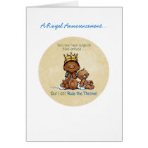 African American Big Brother - King of Twins Card