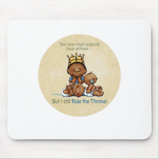 African American Big Brother - King of Twins Mouse Pad