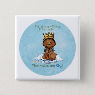 African American Big Brother - Prince Pinback Button