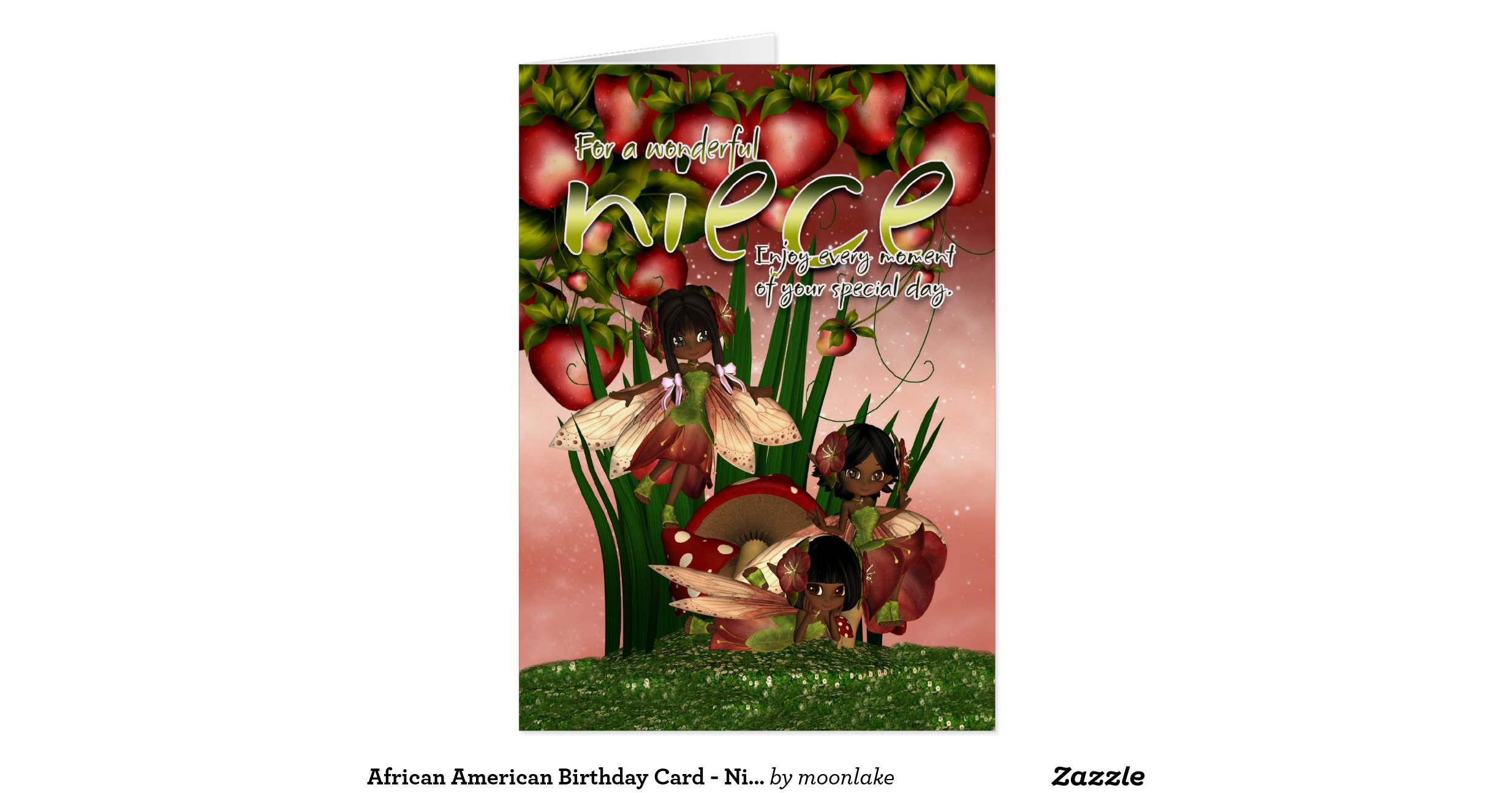Happy Birthday Niece Images African American ~ African american birthday card niece moonies c