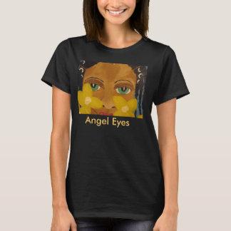 African American Black Art Angel Eyes Tshirt