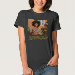 African American Black Art Hair Products by Elle T-Shirt