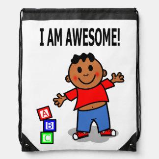 African American Boy Positive Image Backpack