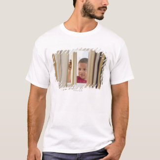 African American boy selecting book T-Shirt