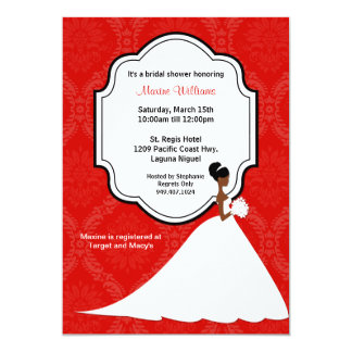 African American Bridal Shower Invitations correctly perfect ideas for your invitation layout