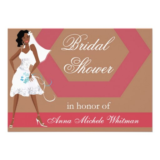 African American Bridal Shower Invitations could be nice ideas for your invitation template