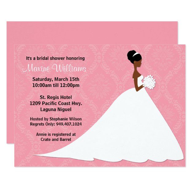 African American Bridal Shower Invitations was awesome invitations example