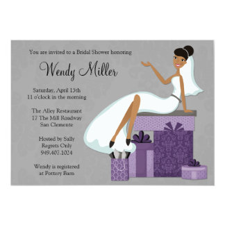 African American Bridal Shower Invitations is the best ideas you have to choose for invitation example