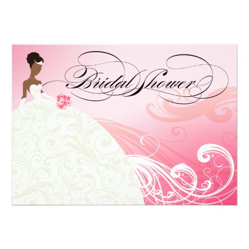 African American Bridal Shower Invitations was very inspiring ideas you may choose for invitation ideas