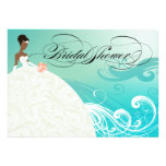 AFRICAN AMERICAN BRIDE ~ Bridal Shower Personalized Invite