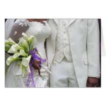 African American Bride & Groom