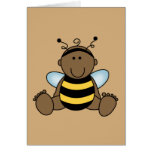 African American Bumble Bee Baby Cards