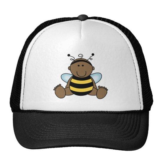 African American Bumble Bee Trucker Hat