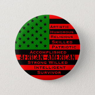African-American Button