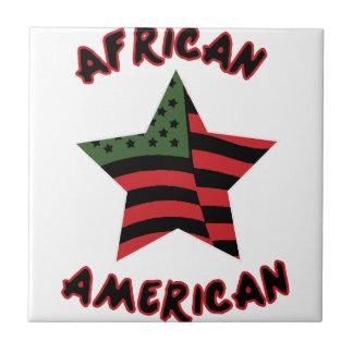 African American Ceramic Tile