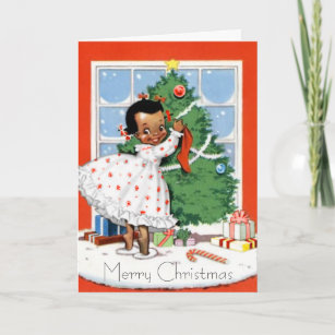 African american christmas cards zazzle african american christmas card m4hsunfo