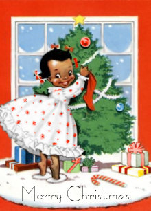 60 off african american postcard christmas cards shop now to save