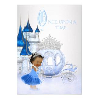 African American Cinderella Princess Birthday Card