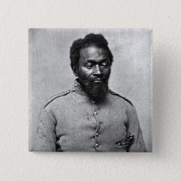 African American Civil War Soldier, 1861 Button