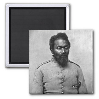 African American Civil War Soldier, 1861 Magnet