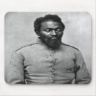 African American Civil War Soldier, 1861 Mouse Pads